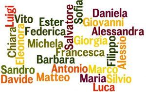 اسم در زبان ایتالیایی