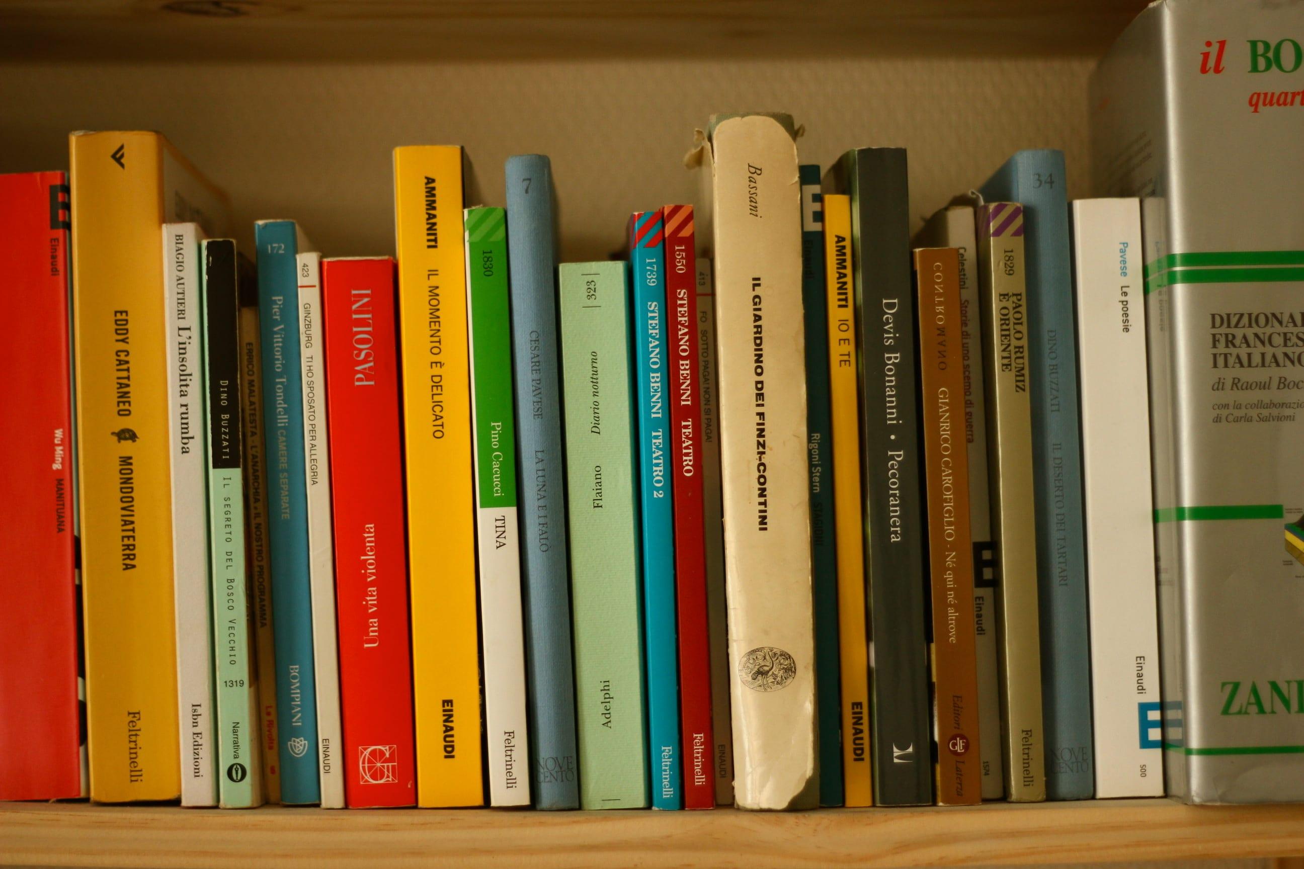 کتاب های زبان ایتالیایی